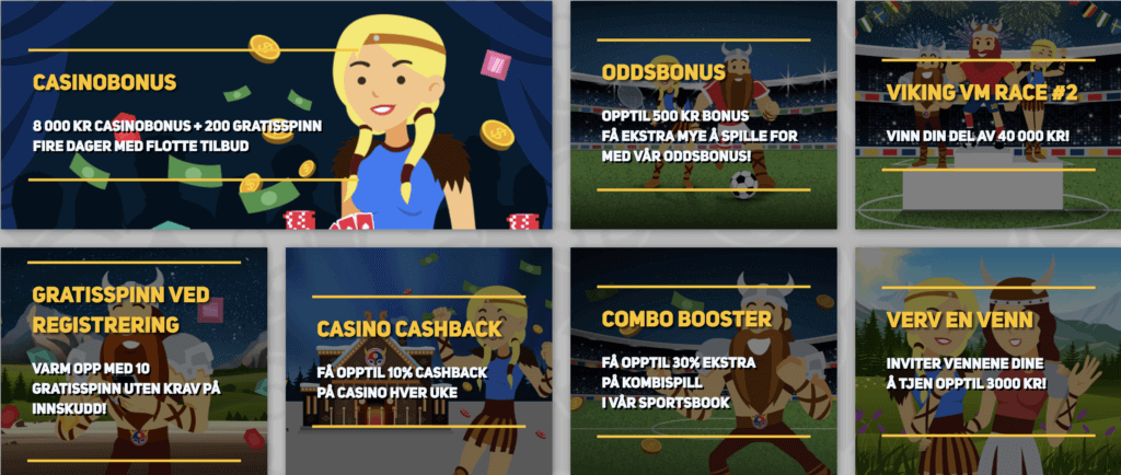 scandibet casino bonus